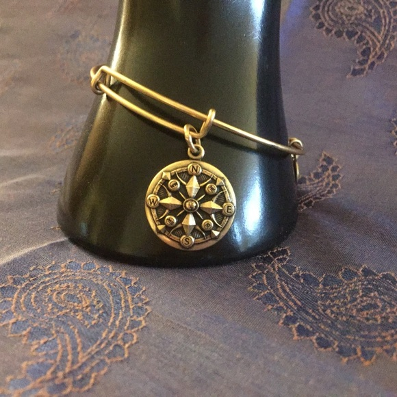 Alex and Ani Jewelry - Alex and Ani Compass Charm Bracelet
